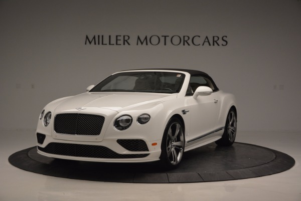 New 2017 Bentley Continental GT Speed Convertible for sale Sold at Bugatti of Greenwich in Greenwich CT 06830 13