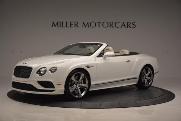 New 2017 Bentley Continental GT Speed Convertible for sale Sold at Bugatti of Greenwich in Greenwich CT 06830 2