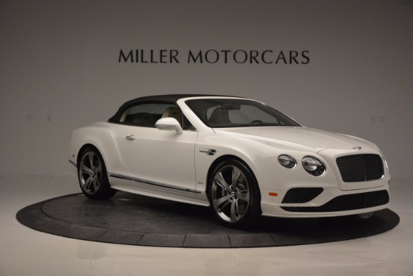New 2017 Bentley Continental GT Speed Convertible for sale Sold at Bugatti of Greenwich in Greenwich CT 06830 23