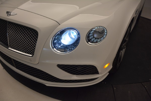 New 2017 Bentley Continental GT Speed Convertible for sale Sold at Bugatti of Greenwich in Greenwich CT 06830 28