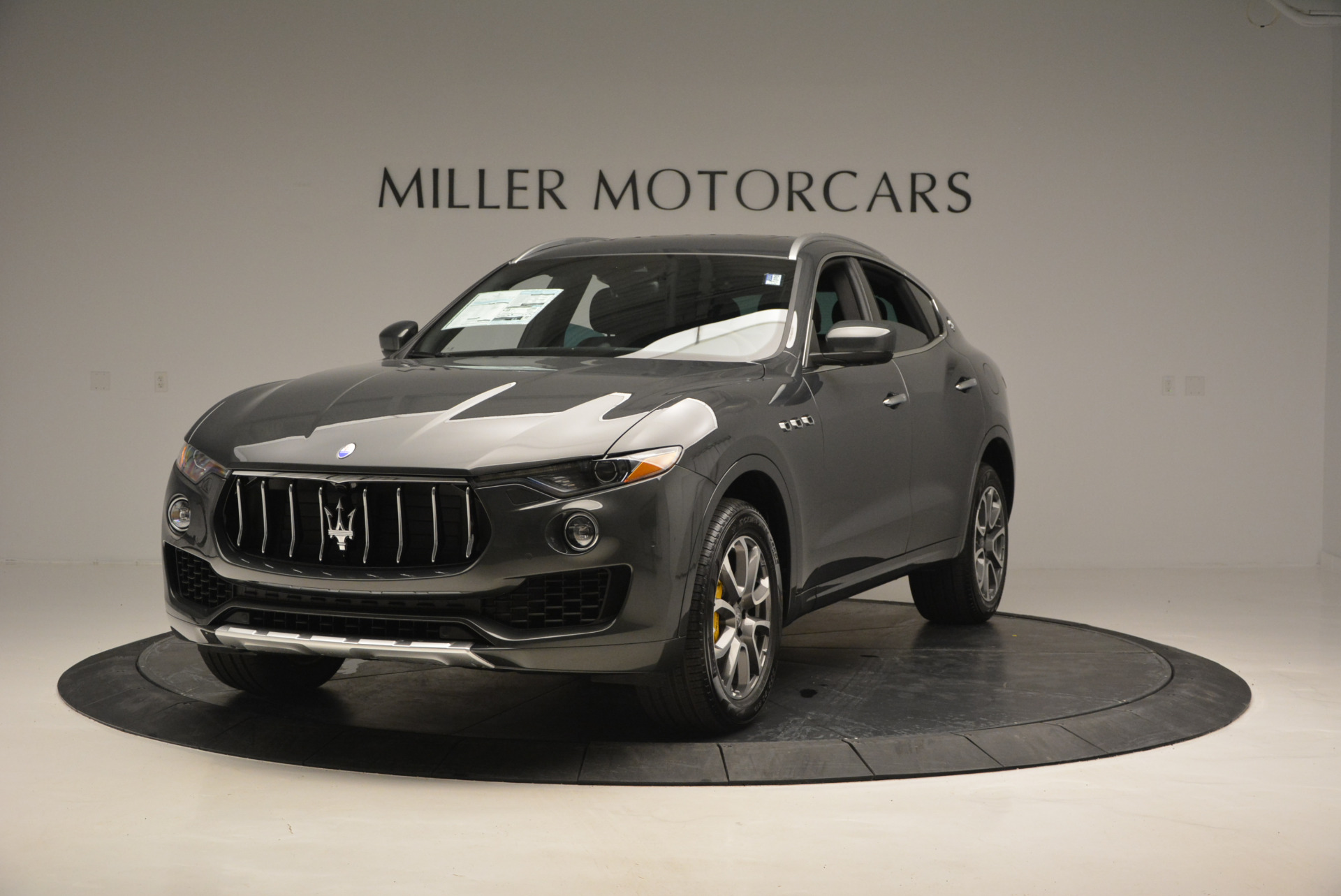 Used 2017 Maserati Levante S Ex Service Loaner for sale Sold at Bugatti of Greenwich in Greenwich CT 06830 1