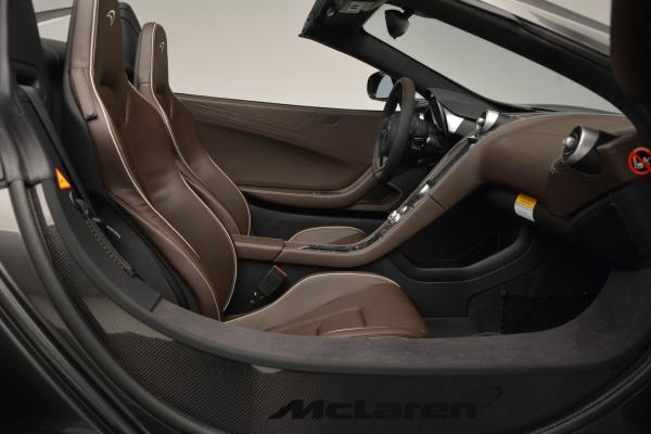 Used 2016 McLaren 650S SPIDER Convertible for sale Sold at Bugatti of Greenwich in Greenwich CT 06830 26