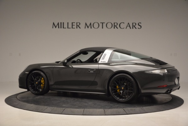 Used 2016 Porsche 911 Targa 4 GTS for sale Sold at Bugatti of Greenwich in Greenwich CT 06830 15