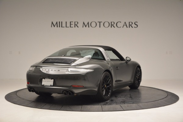 Used 2016 Porsche 911 Targa 4 GTS for sale Sold at Bugatti of Greenwich in Greenwich CT 06830 18