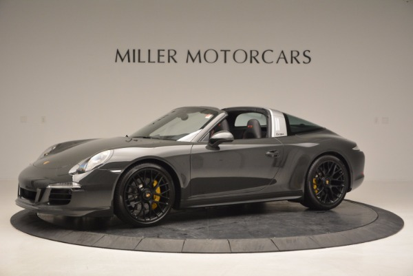 Used 2016 Porsche 911 Targa 4 GTS for sale Sold at Bugatti of Greenwich in Greenwich CT 06830 2