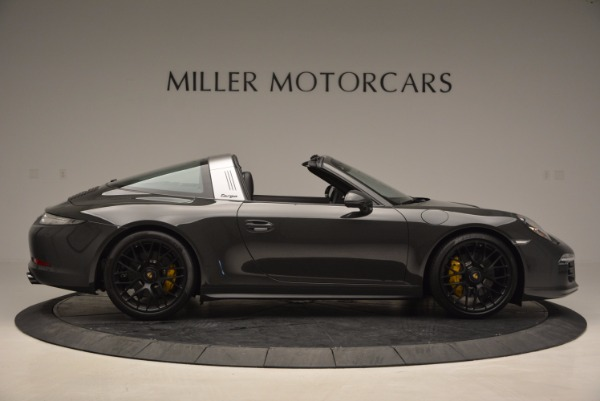 Used 2016 Porsche 911 Targa 4 GTS for sale Sold at Bugatti of Greenwich in Greenwich CT 06830 9