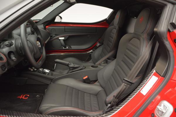 Used 2015 Alfa Romeo 4C for sale Sold at Bugatti of Greenwich in Greenwich CT 06830 14