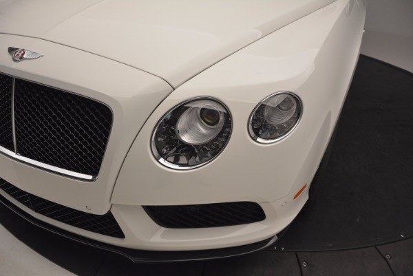 Used 2014 Bentley Continental GT V8 S for sale Sold at Bugatti of Greenwich in Greenwich CT 06830 14