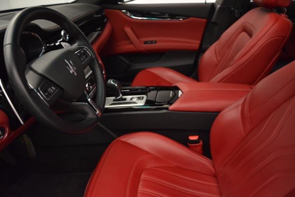 Used 2015 Maserati Quattroporte S Q4 for sale Sold at Bugatti of Greenwich in Greenwich CT 06830 14