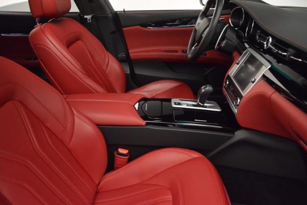 Used 2015 Maserati Quattroporte S Q4 for sale Sold at Bugatti of Greenwich in Greenwich CT 06830 21