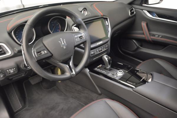 Used 2017 Maserati Ghibli S Q4 for sale Sold at Bugatti of Greenwich in Greenwich CT 06830 14