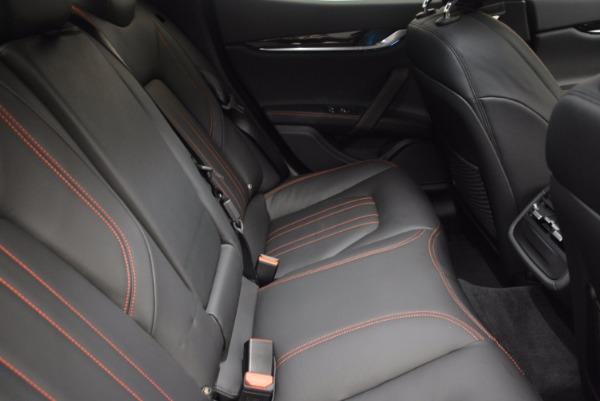 Used 2017 Maserati Ghibli S Q4 for sale Sold at Bugatti of Greenwich in Greenwich CT 06830 24