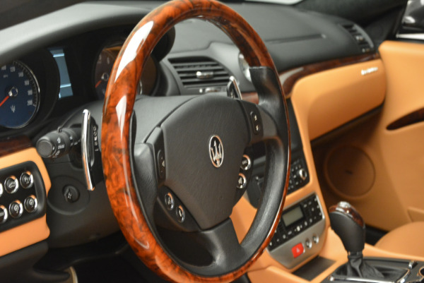 Used 2011 Maserati GranTurismo for sale Sold at Bugatti of Greenwich in Greenwich CT 06830 16
