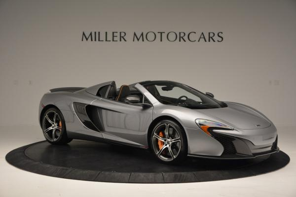Used 2016 McLaren 650S SPIDER Convertible for sale Sold at Bugatti of Greenwich in Greenwich CT 06830 10