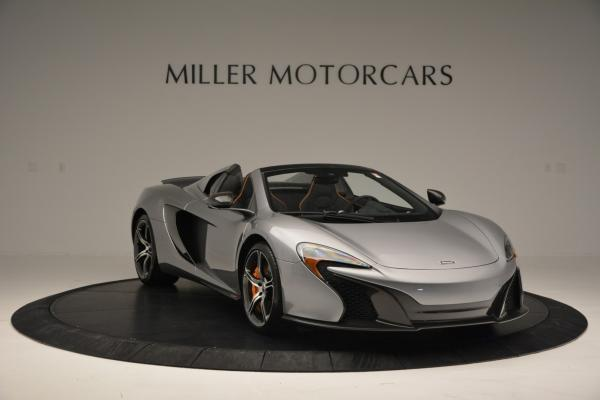Used 2016 McLaren 650S SPIDER Convertible for sale Sold at Bugatti of Greenwich in Greenwich CT 06830 11