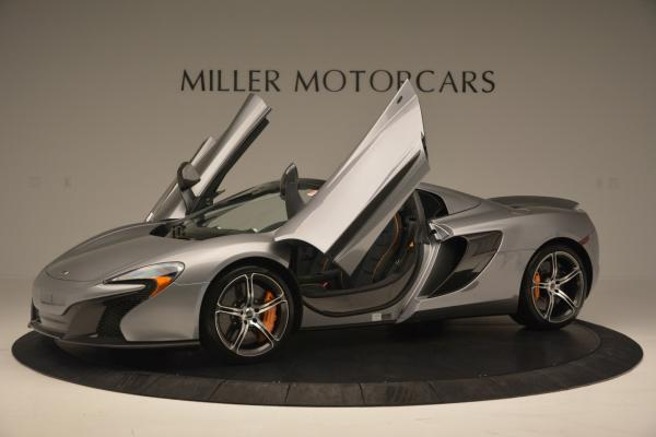 Used 2016 McLaren 650S SPIDER Convertible for sale Sold at Bugatti of Greenwich in Greenwich CT 06830 14