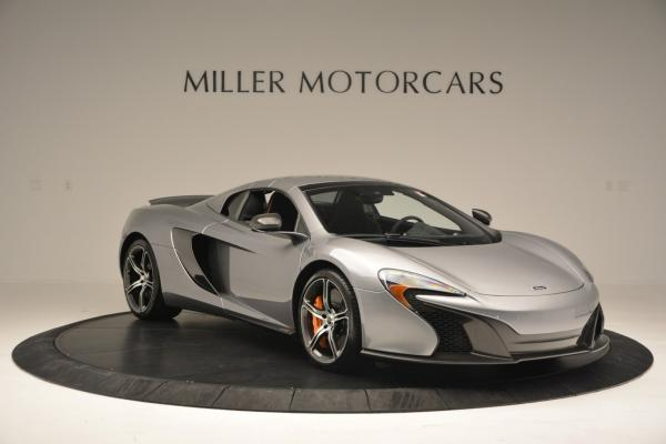 Used 2016 McLaren 650S SPIDER Convertible for sale Sold at Bugatti of Greenwich in Greenwich CT 06830 20