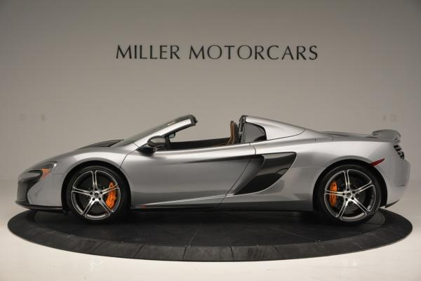Used 2016 McLaren 650S SPIDER Convertible for sale Sold at Bugatti of Greenwich in Greenwich CT 06830 3