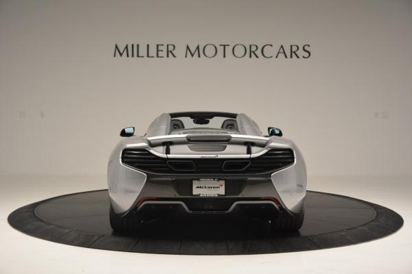 Used 2016 McLaren 650S SPIDER Convertible for sale Sold at Bugatti of Greenwich in Greenwich CT 06830 6