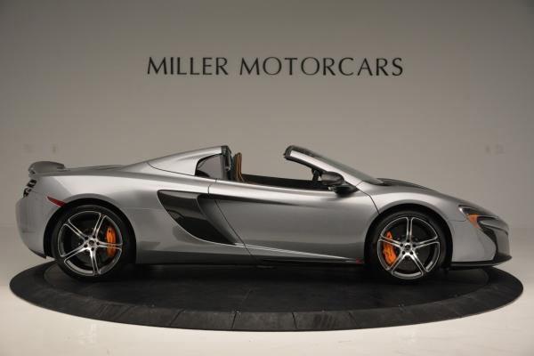 Used 2016 McLaren 650S SPIDER Convertible for sale Sold at Bugatti of Greenwich in Greenwich CT 06830 9