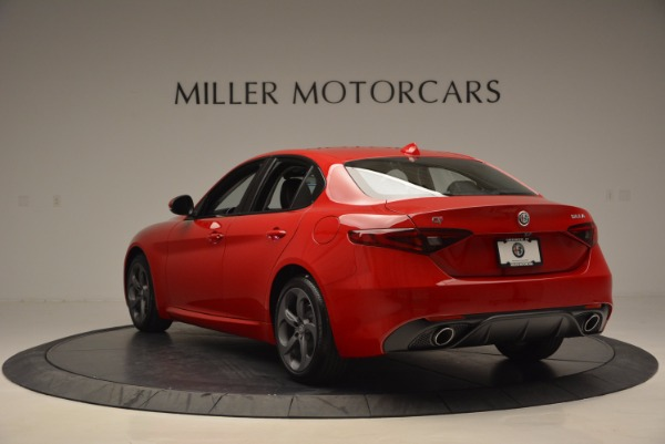 New 2017 Alfa Romeo Giulia Q4 for sale Sold at Bugatti of Greenwich in Greenwich CT 06830 5