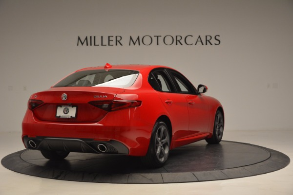 New 2017 Alfa Romeo Giulia Q4 for sale Sold at Bugatti of Greenwich in Greenwich CT 06830 7