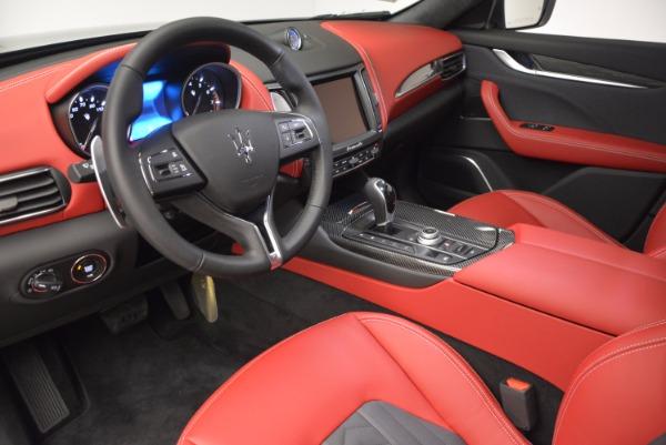 New 2017 Maserati Levante S Zegna Edition for sale Sold at Bugatti of Greenwich in Greenwich CT 06830 13