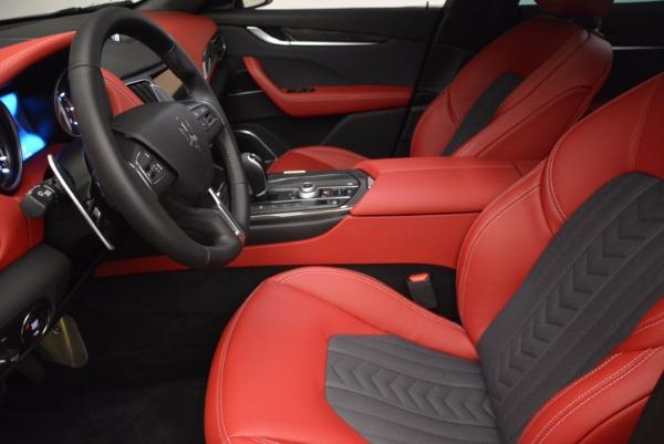 New 2017 Maserati Levante S Zegna Edition for sale Sold at Bugatti of Greenwich in Greenwich CT 06830 14