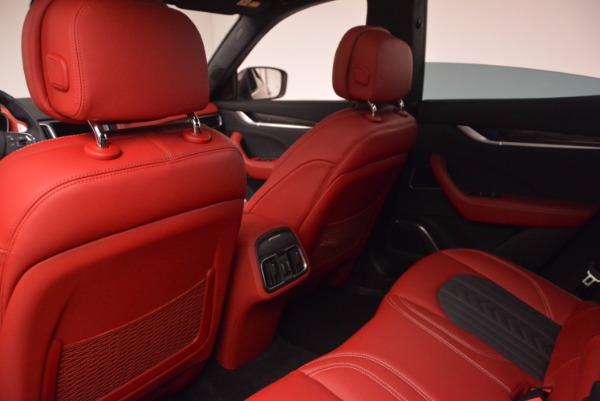 New 2017 Maserati Levante S Zegna Edition for sale Sold at Bugatti of Greenwich in Greenwich CT 06830 21