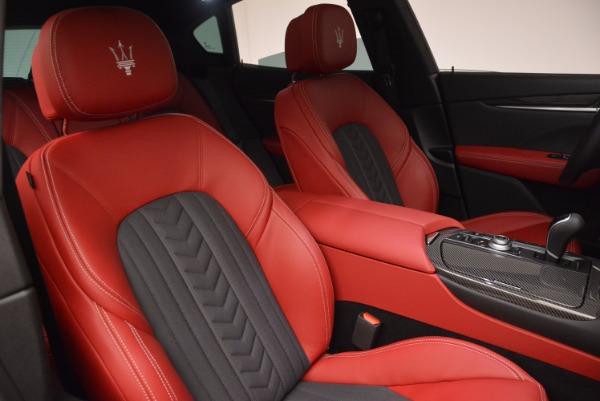 New 2017 Maserati Levante S Zegna Edition for sale Sold at Bugatti of Greenwich in Greenwich CT 06830 25