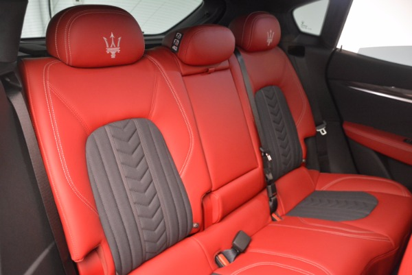 New 2017 Maserati Levante S Zegna Edition for sale Sold at Bugatti of Greenwich in Greenwich CT 06830 26