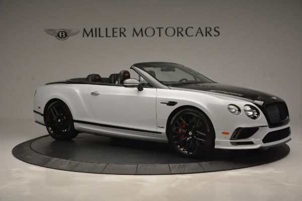 New 2018 Bentley Continental GT Supersports Convertible for sale Sold at Bugatti of Greenwich in Greenwich CT 06830 10