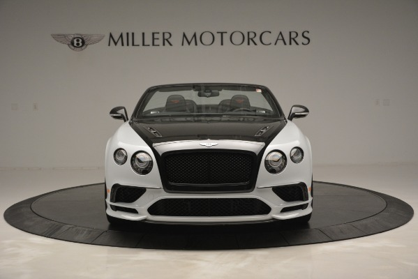 New 2018 Bentley Continental GT Supersports Convertible for sale Sold at Bugatti of Greenwich in Greenwich CT 06830 12