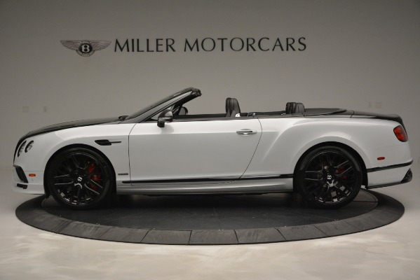 New 2018 Bentley Continental GT Supersports Convertible for sale Sold at Bugatti of Greenwich in Greenwich CT 06830 3
