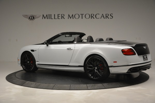 New 2018 Bentley Continental GT Supersports Convertible for sale Sold at Bugatti of Greenwich in Greenwich CT 06830 4