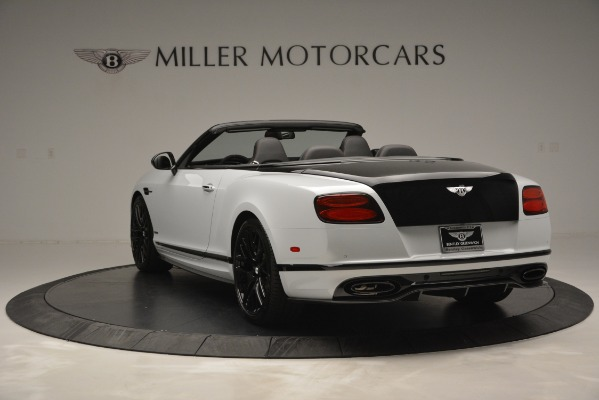 New 2018 Bentley Continental GT Supersports Convertible for sale Sold at Bugatti of Greenwich in Greenwich CT 06830 5