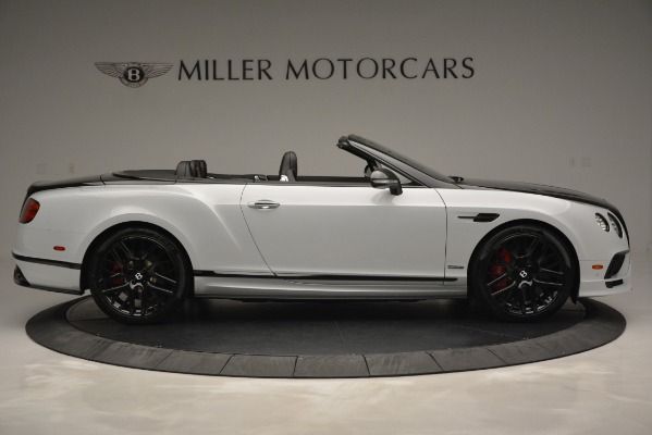 New 2018 Bentley Continental GT Supersports Convertible for sale Sold at Bugatti of Greenwich in Greenwich CT 06830 9