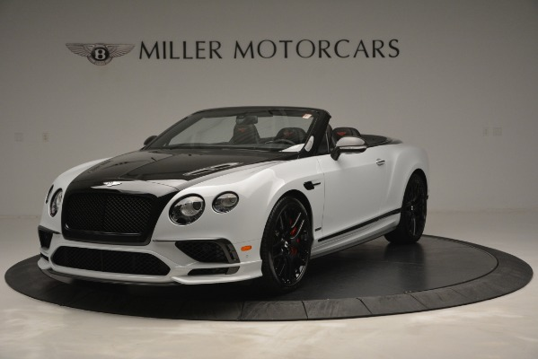 New 2018 Bentley Continental GT Supersports Convertible for sale Sold at Bugatti of Greenwich in Greenwich CT 06830 1