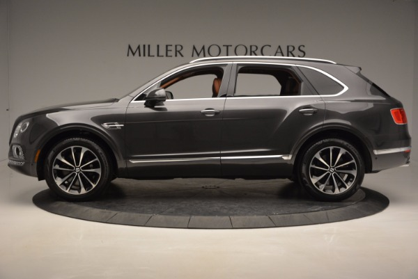 New 2017 Bentley Bentayga for sale Sold at Bugatti of Greenwich in Greenwich CT 06830 3