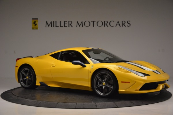 Used 2015 Ferrari 458 Speciale for sale Sold at Bugatti of Greenwich in Greenwich CT 06830 10