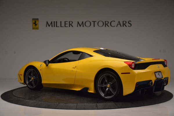 Used 2015 Ferrari 458 Speciale for sale Sold at Bugatti of Greenwich in Greenwich CT 06830 4