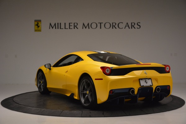 Used 2015 Ferrari 458 Speciale for sale Sold at Bugatti of Greenwich in Greenwich CT 06830 5