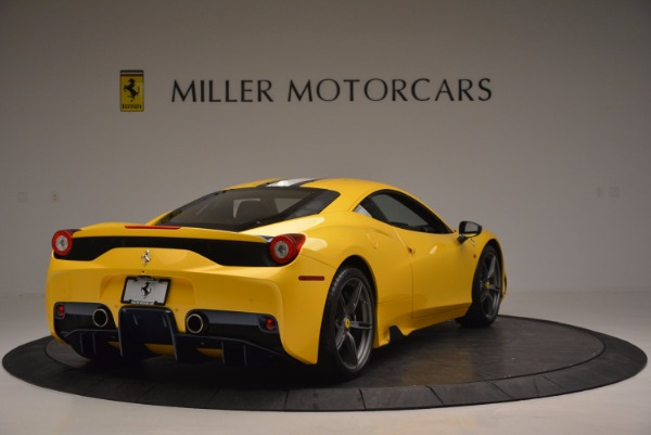Used 2015 Ferrari 458 Speciale for sale Sold at Bugatti of Greenwich in Greenwich CT 06830 7