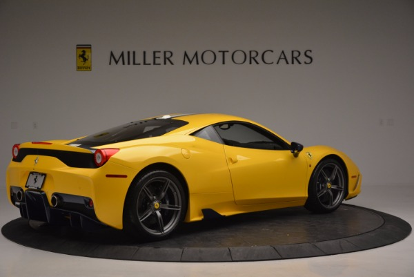 Used 2015 Ferrari 458 Speciale for sale Sold at Bugatti of Greenwich in Greenwich CT 06830 8