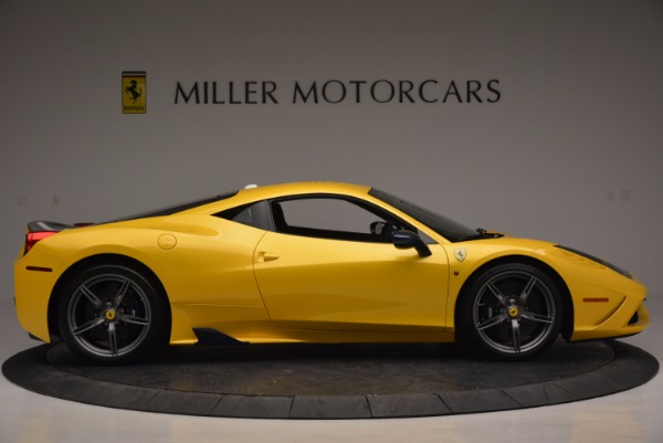 Used 2015 Ferrari 458 Speciale for sale Sold at Bugatti of Greenwich in Greenwich CT 06830 9