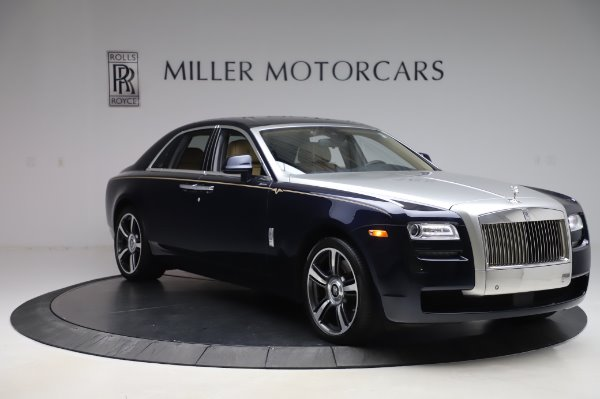 Used 2014 Rolls-Royce Ghost V-Spec for sale Sold at Bugatti of Greenwich in Greenwich CT 06830 8