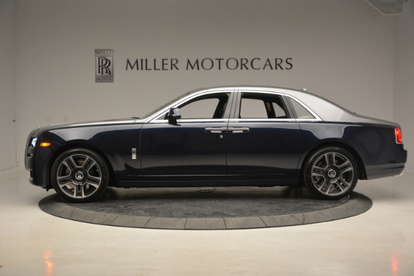 New 2017 Rolls-Royce Ghost for sale Sold at Bugatti of Greenwich in Greenwich CT 06830 3