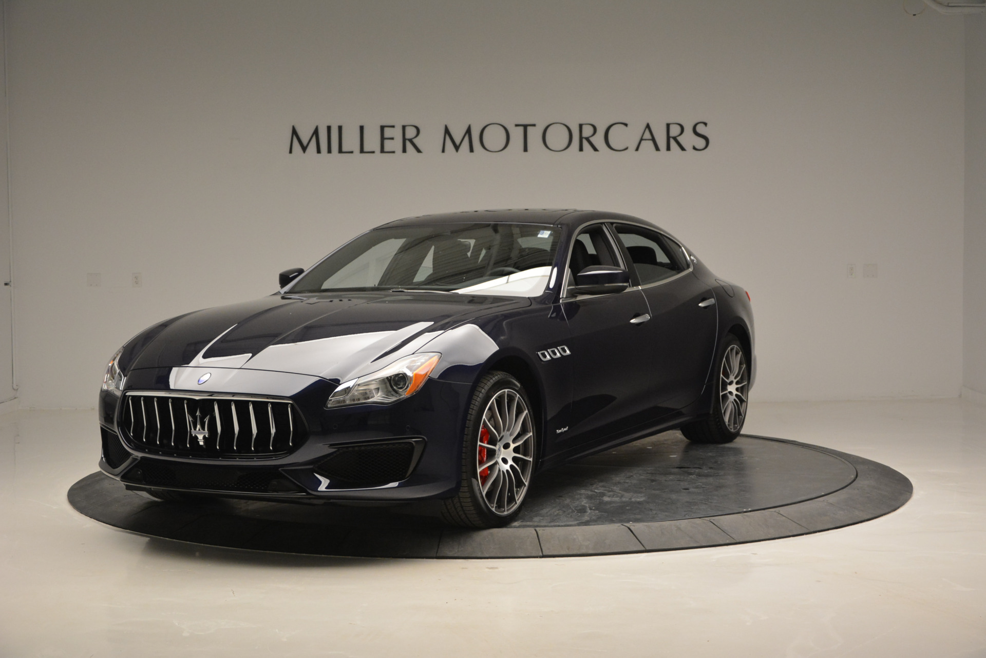 New 2017 Maserati Quattroporte S Q4 GranSport for sale Sold at Bugatti of Greenwich in Greenwich CT 06830 1