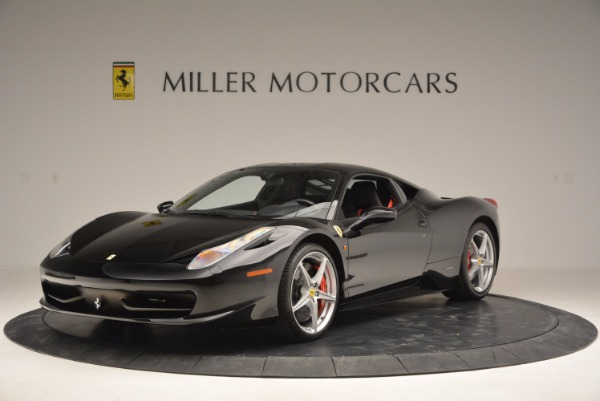 Used 2013 Ferrari 458 Italia for sale Sold at Bugatti of Greenwich in Greenwich CT 06830 1