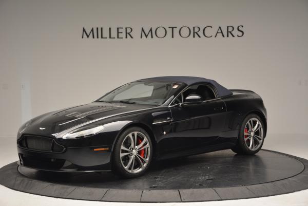 Used 2016 Aston Martin V12 Vantage S Convertible for sale $128,900 at Bugatti of Greenwich in Greenwich CT 06830 14